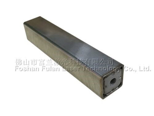 Stainless steel square material laser welding