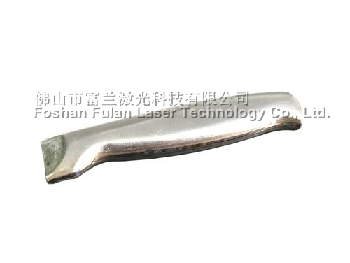 Stainless steel hollow core tool holder laser seam welding