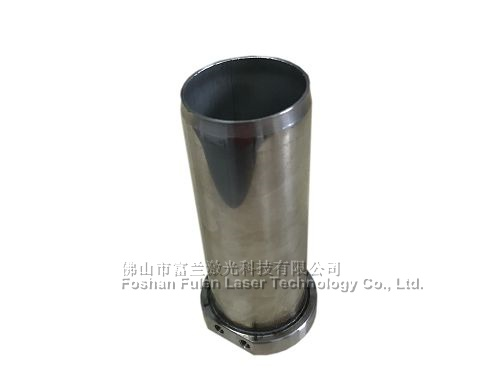 Cylindrical metal laser welding